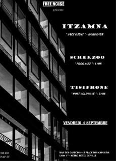 Tisiphone - Concert au Bar des Capuçins - Lyon